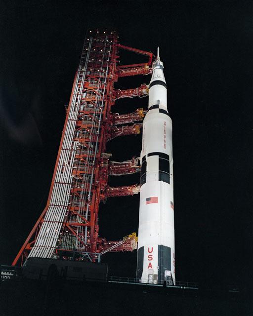 Apollo 13 before launch, NASA