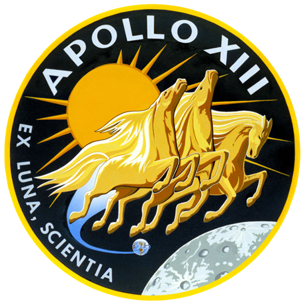 Apollo 13 patch, NASA