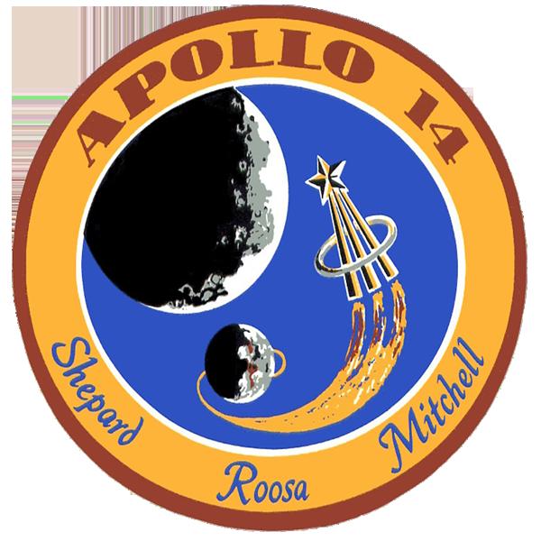 Apollo 14 patch, NASA