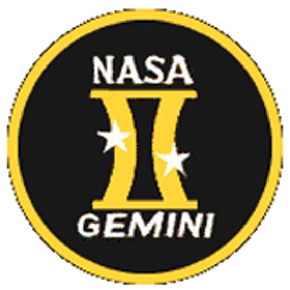 Gemini patch, Mercury, NASA
