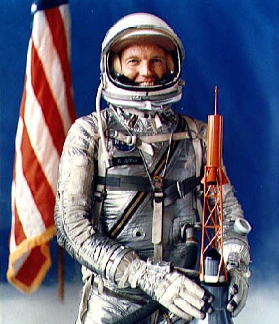 L. Gordon Cooper - Mercury-Atlas 9 misijos pilotas