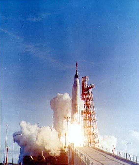 Mercury-Atlas 8 Sigma 7 startas