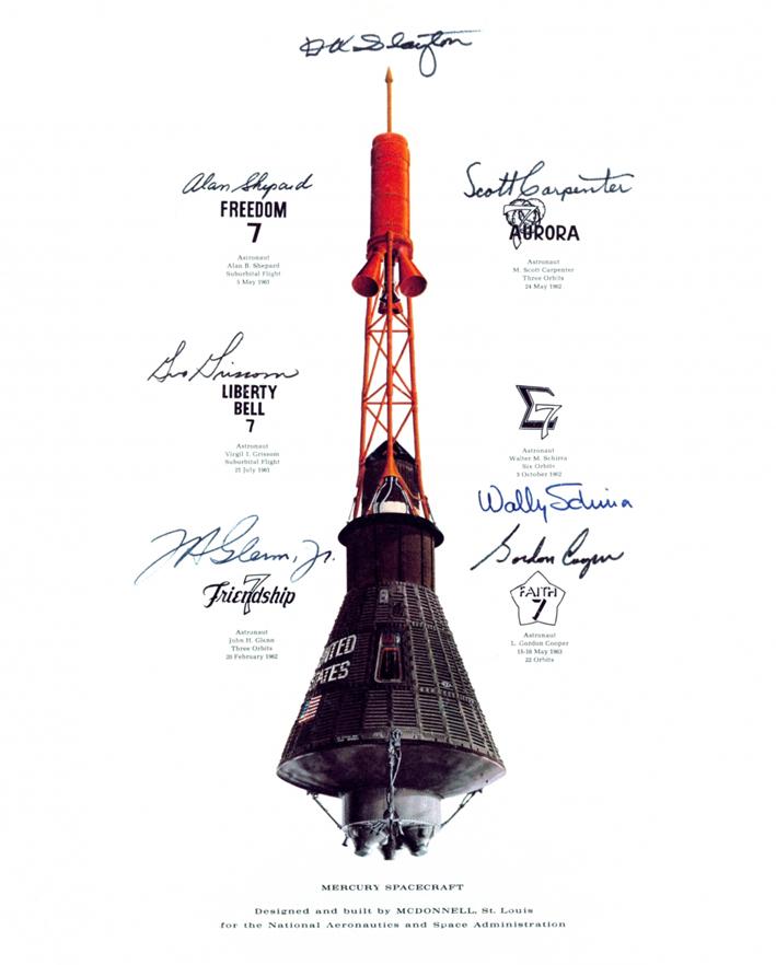 Mercury, NASA, parašai
