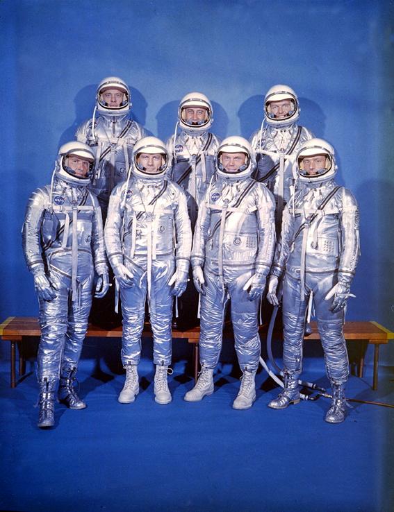 Mercury first astronauts original