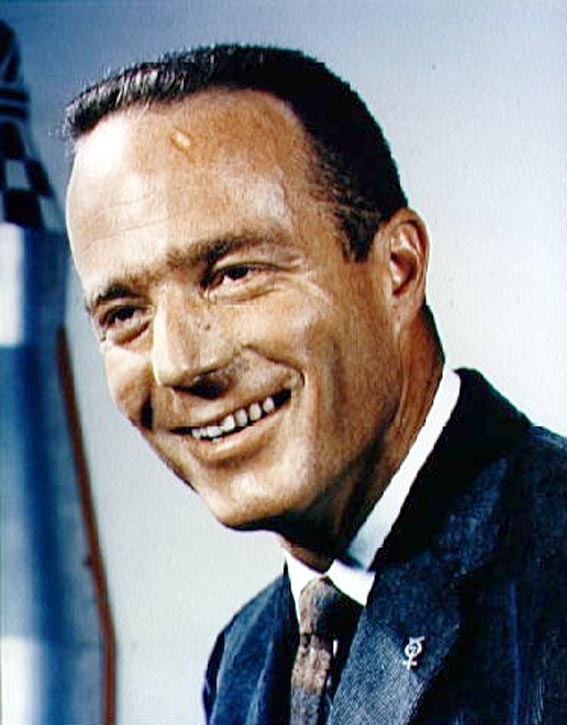 Astronautas M. Scott Carpenter - Mercury-Atlas 7 pilotas