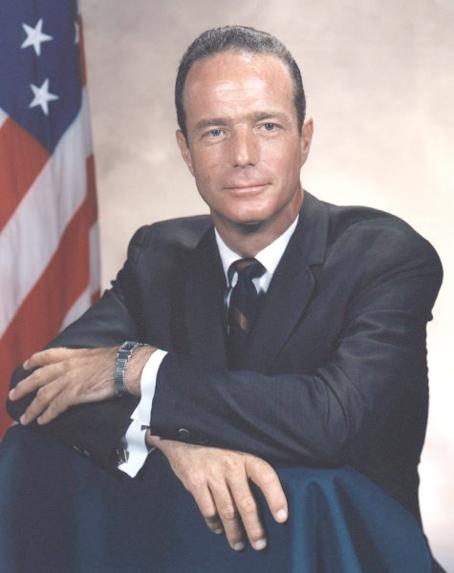 Astronautas M. Scott Carpenter - Mercury-Atlas 7 (MA-7) pilotas