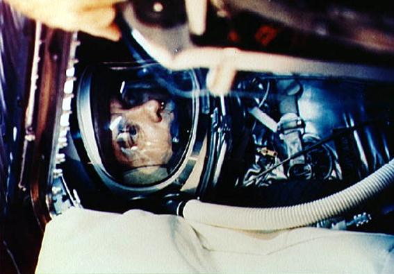 Alan Shepard erdvėlaivyje