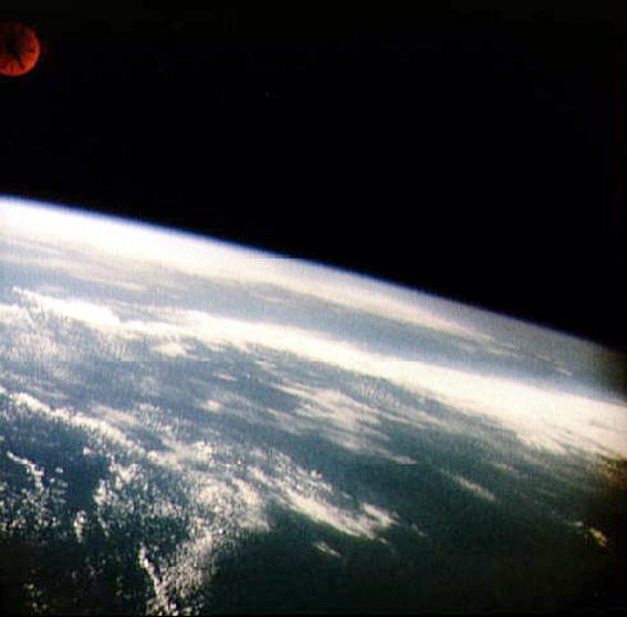 pirmasis Žemės vaizdas