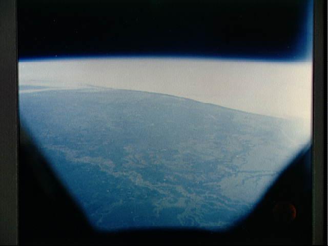 Žemė iš erdvėlaivio kabinos